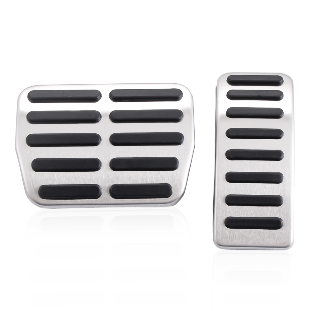 Image 4 - Stainless Steel Car Gas Brake Pedals For Audi TT Pedale VW SEAT Golf 3 4 Polo 9N3 For SKODA Octavia Ibiza Fabia A1 A2 A3 GTI-in Car Stickers from Automobiles & Motorcycles