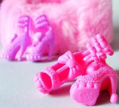 1 cặp Giày Cao Gót Thời Trang Dép 1/6 Thời Trang Búp Bê Khởi Động Sneaker Búp Bê Giày Đối Với Barbie Búp Bê Xmas Quà Tặng Cho Cô Gái Đồ Chơi