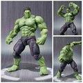 New hot 22 cm avengers Super herói hulk móvel figura de ação brinquedos boneca de presente de natal haoke15 S101