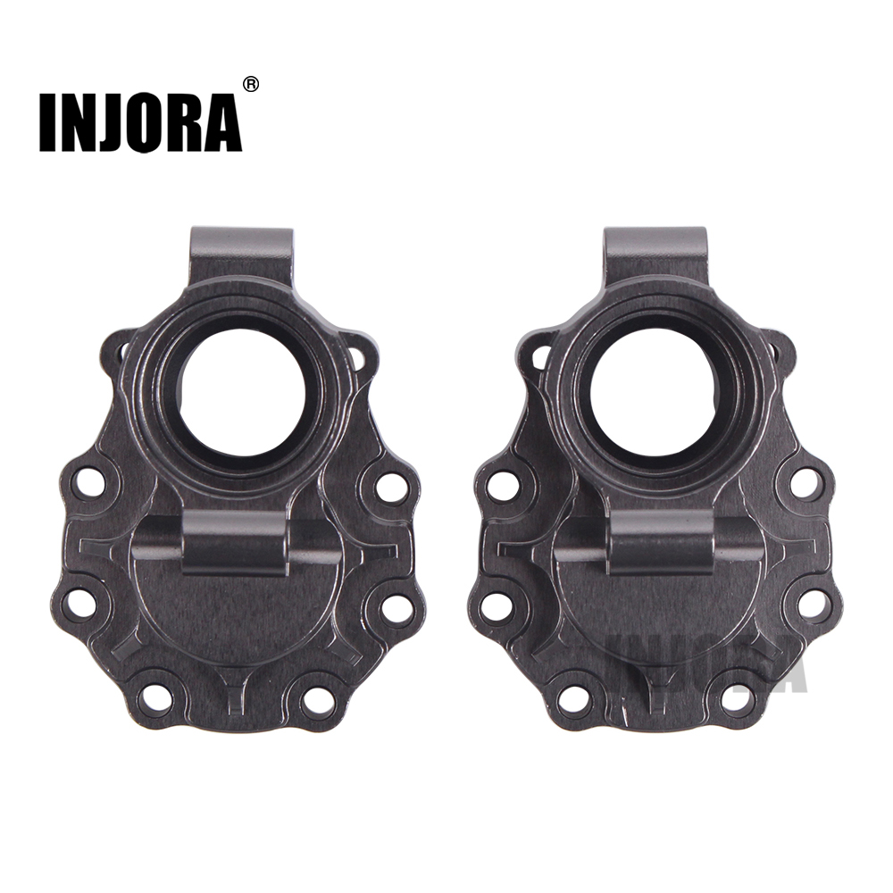 INJORA TRX4 2Pcs Aluminum Alloy Inner Rear Portal Drive Housing for 1/10 RC Crawler Traxxas TRX-4 8253
