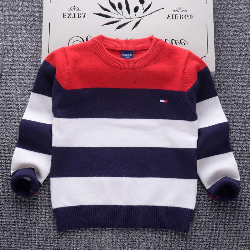 AD Striped Girls Sweaters Boys Clothing Boys Sweaters Autumn Winter Girls Sweaters Kids Children's Clothes кардиган gaudi 721bu53061 2001