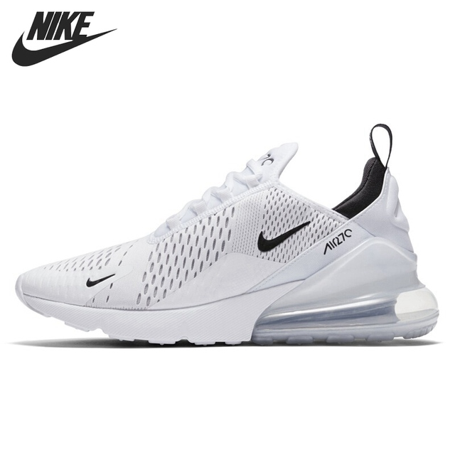 ... white black 1 18c95 251fc  hot original new arrival nike air max 270  mens running shoes sneakers bd7f2 128cf b11ed2b0d