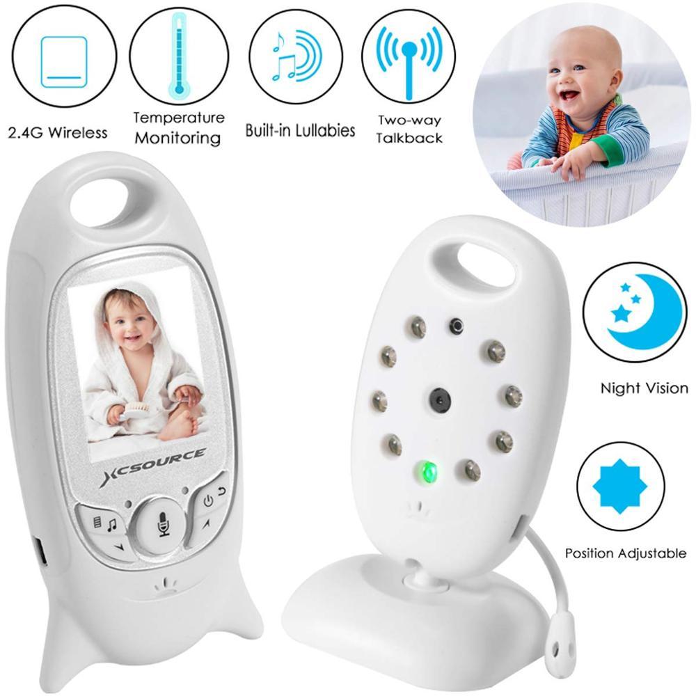 Eletronica sans fil vidéo sécurité bébé moniteur Vision nocturne bébé caméra 2.0 pouces couleur écran infrarouge LED surveillance de la température