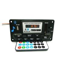 High Quality MP3 WAV WMA APE Bluetooth 4.0 Audio Decoder Board With Recording 12V