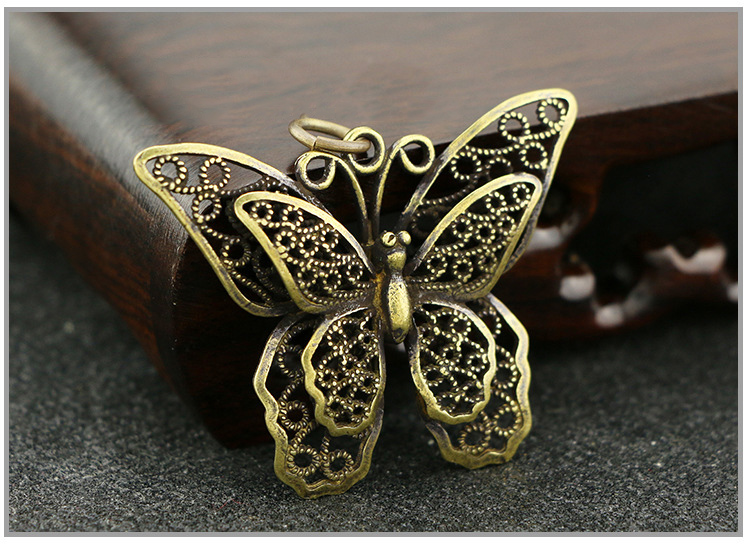 Hollow Butterfly Keychain Pendants (5)