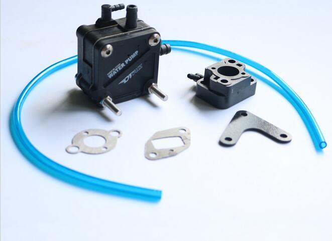 Water Pump C/W carburetor insulator for ZENOAH RCMK Engine RC Gas Boat 6162 63 1015 sa6d170e 6d170 engine water pump for komatsu