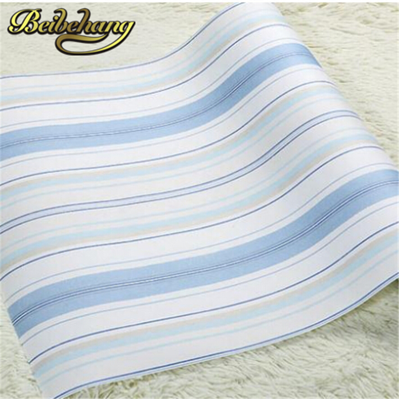 beibehang home decor papel de parede 3d wallpaper roll blue pink wall paper kids wallpaper stripe wall paper child living room beibehang classic feature solid wall paper plain stripe non woven home decor papel de parede 3d wallpaper roll for bedroom white