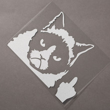 Grumpy Cat Cartoon Sticker