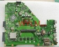 Free Shipping Original X550CA X550CC Motherboard MAIN BOARD REV 2 0 1007U 4GB RAM MEMORY 100