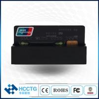 Smallest USB 3 tracks USB Lo/ Hi CO Magnetic Stripe card reader + free SDK HCC750