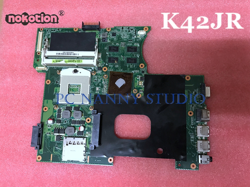 NOKOTION Mainboard for Notebook K42JR HM55 motherboard Tested