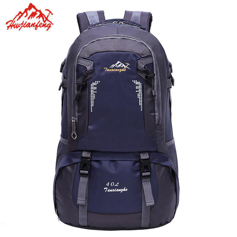 40L 60L Camping Hiking Backpack Waterproof Climbing Rucksack Outdoor Sports Bag Travel Backpack Men Women Camp Trekking Bag