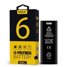 100% GOLF 1810 mAh Téléphone Batterie Pour iPhone 6 Haute Qualité Built-In de Remplacement Batteries + Outils D'installation (Kit)