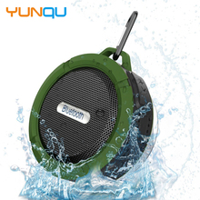 C60 Waterproof Bluetooth Outdoor Speaker Portable Wireless Music Sound Bar Hands Free Bathroom Shower MP3 Player TF card
