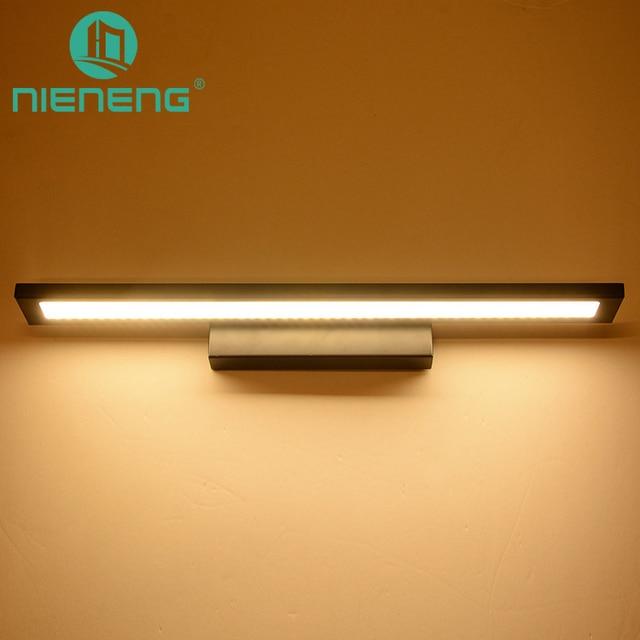 LED Spiegelleuchte Bad Beleuchtung Machen Up Light LED Wandleuchte ...