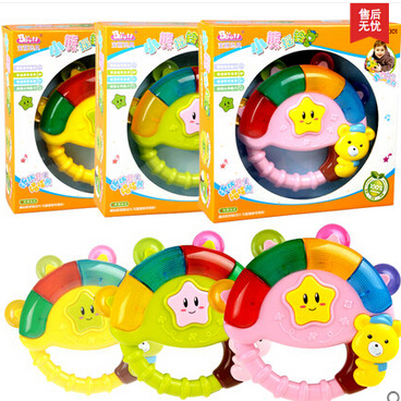 Free Shipping Children S Music Rattle 6 12 Months Baby Toy Puzzle 0