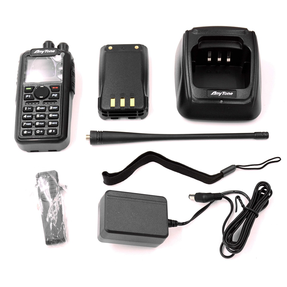 AnyTone AT-D878UV two way radio Tier I&II Dual band DMR&Analog FM, APRS,  GPS, BIBANDA wireless comunication ham Transceiver