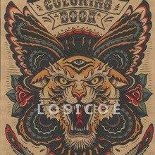 Wyprzedaż Tattoo Tiger Colorful Galeria Kupuj W Niskich