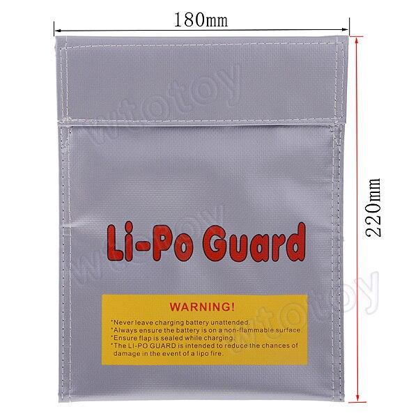 LiPo Safe Guard bag Battery Charging Sack (180 x 220mm)