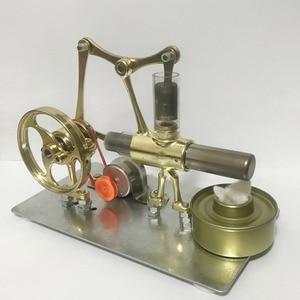 Image 4 - Balance Stryn motor miniatur modell dampf power technologie kleine produktions kleine power generation experimentelle spielzeug