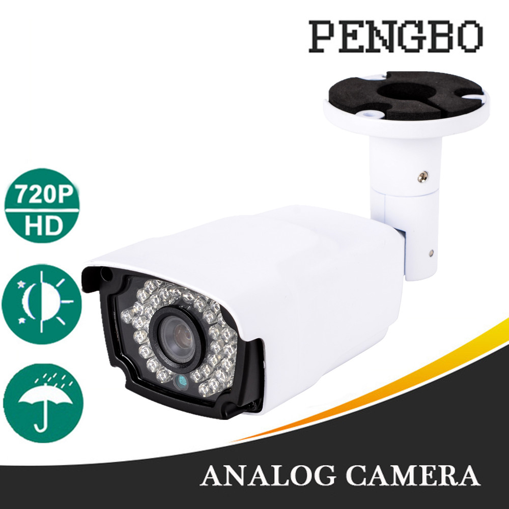 Pengbo 720P HD Video Surveillance Camera IR Night Outdoor IP66 Waterproof 1200tvl Security CCTV CameraPengbo 720P HD Video Surveillance Camera IR Night Outdoor IP66 Waterproof 1200tvl Security CCTV Camera