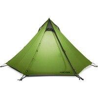 FLAME'S CREED Сверхлегкий Открытый Кемпинг вигвама 15D Silnylon Пирамида палатка 2 3 человек большая палатка альпинизмом походные палатки