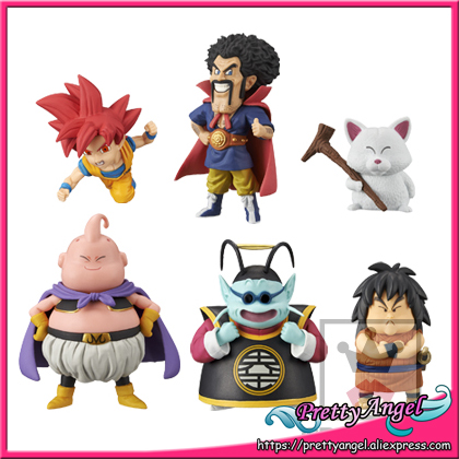 Japan Anime Original BANPRESTO World Collectable Figure / WCF Vol.2 Dragon Ball SUPER Toy Figure - Full Set of 6 Pieces original banpresto world collectable figure wcf the historical characters vol 3 full set of 6 pieces from dragon ball z