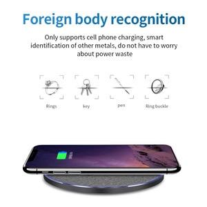 Image 2 - Беспроводное зарядное устройство Qi 15 Вт для Xiaomi 9, Huawei P30 Pro, быстрая зарядка 10 Вт для Samsung S9, S10, iPhone X, XS MAX, XR, 8 Plus