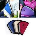 Vermelho azul bege Poliéster mistura algodão Triângulo tampas do Cinto de Segurança Do Carro Ombro Protetor de tampa do assento de segurança do carro Ajuste do carrinho de bebê