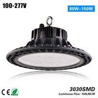 2017 Хит продаж DLC etl 150lm/W 100 Вт НЛО высокий свет залива 15000lm модернизации highbay лампа светильник 5 года гарантии