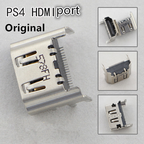 Original hdmi prot For Sony Playstation 4 PS4 HDMI Port Socket Interface Connector Replacement ...