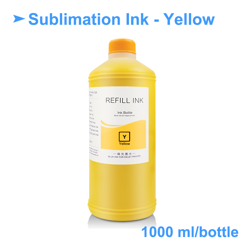 1000ML Sublimation Ink Heat Transfer Ink Heat Press Ink For Epson 3800 3880  7700 9700 7800 7880 7600 9600 P800 (11Colors Option)