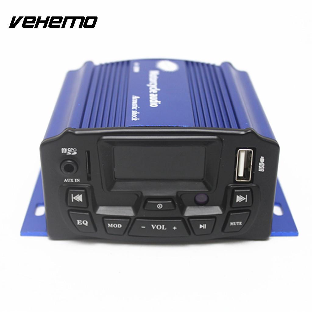 Haut-parleurs Audio moto Vehemo antivol Radio Audio moto lecteur MP3