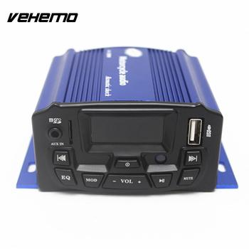 Vehemo Motorcycle Audio Speakers Anti Theft Motorcycle Audio Radio MP3 Player