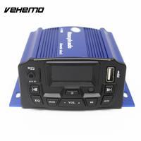 Vehemo Motorcycle Audio Speakers Anti Theft Motorcycle Audio Radio MP3 Player