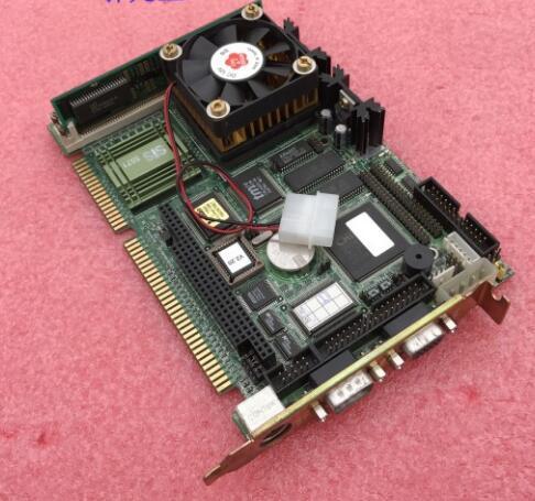 100 OK Original IPC Board PCA 6153 PCA 6153 B1 ISA Slot Industrial motherboard Half Size
