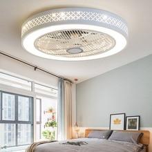 Умный потолочный вентилятор управления с сотовым телефоном Wi-Fi Домашний потолочный вентилятор с подсветкой