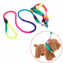Double Strand Nylon  Dog Leashes Traction Rope for Harness