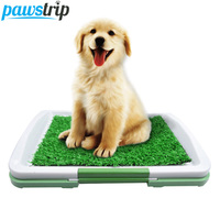 Simulation Grass Dog Toilet Puppy Potty Trainer Dog Training Pads Self Cleaning Litter Box Dog Potty Pet Toilet For Dog 32*46cm