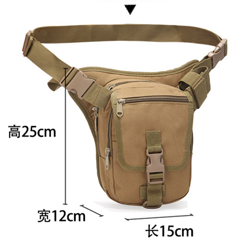 Men Hip Bum Waist Fanny Pack Tactical Military Sport Hiking Nylon Running Bag