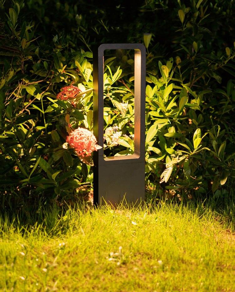 água gramado luz do jardim moderno e