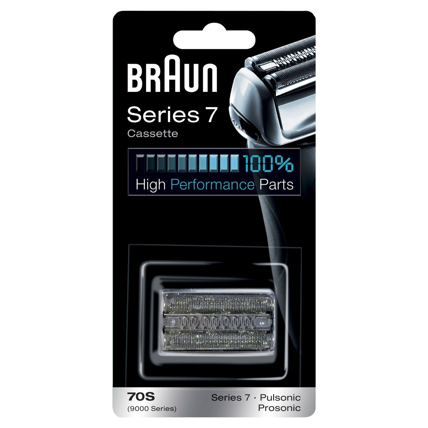 Braun 70S Razor Cassette Replacement for Series 7 Shavers 720 760cc 790cc 9595 9781