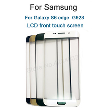Replacement LCD Front Touch Screen Outer Glass Lens For Samsung Galaxy S6 Plus S6 Edge+ G928 G928F 5.7''+ Repair Tools недорго, оригинальная цена