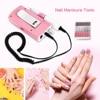 Electric Nail Drill Manicure Machine 18W 30000RPM Acrylic Nail File Drill Manicure Pedicure Kit Rechargeable Nail