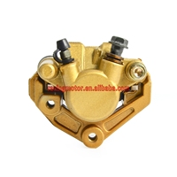 Scooter Moped Front Brake Caliper With Pads For Yamaha ZUMA 50cc YW50 2002 2011 YW 50