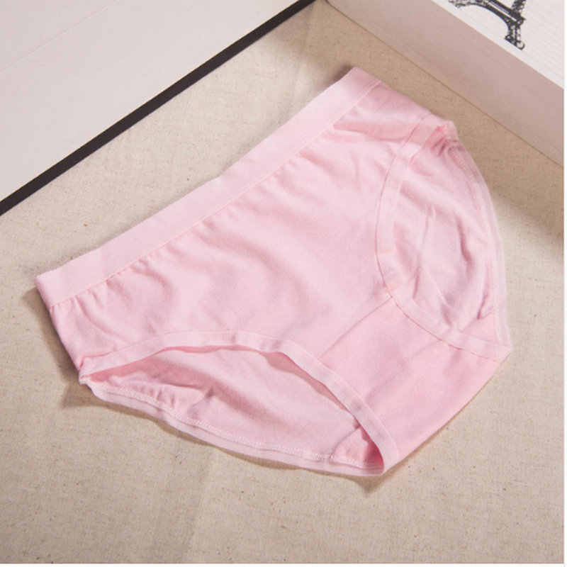 زائد حجم L-XXL 15 الألوان القطن الإناث الملابس الداخلية لينة كبيرة كود المرأة سراويل ملخصات الملابس الداخلية