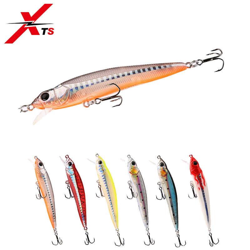 XTS рыболовная приманка 90 мм 9 г жесткие гольфы Искусственные воблеры 6 видов