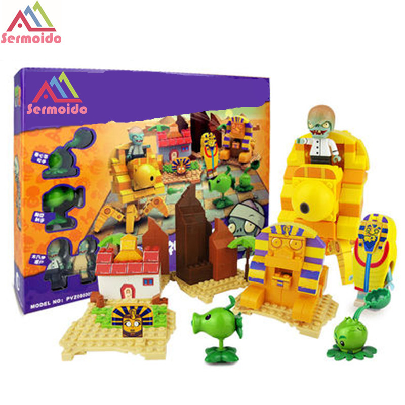 Plants Vs Zombies Garden Maze Struck Game Building Blocks Bricks Like Figures Minecraft Toys For Children Gift B11 plants vs zombies garden maze struck game legoings building bricks blocks set anime figures my world toys for children gifts