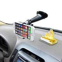 Cobao 360 Degree Rotation Monopod Universal Suction Cup Mobile Phone Desktop Car Holder Stand For Smart phone