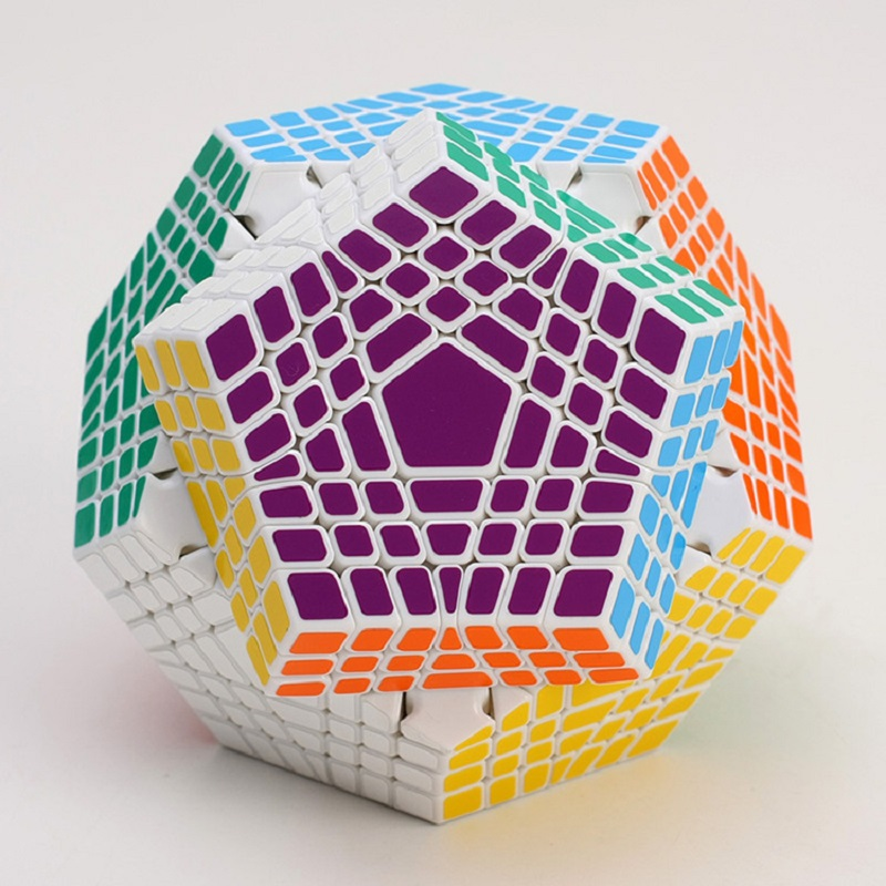 2017 New Shengshou Tegaminx Puzzle Cube Professional 7x7x7 PVC&Matte Stickers Cubo Puzzle Speed Classic Educational Toys dayan bagua magic cube speed cube 6 axis 8 rank puzzle toys for children boys educational toys new year gift